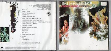 jimi hendrix CD collector /  cornerstones  czech republic
