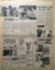 jimi hendrix newspaper 1968/new musical express 16/11/68 jimi hendrix story