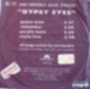 jimi hendrix ep vinyls/gypsy eyes ep new zealand  1971
