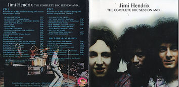 jimi hedrix collector bootlegs cd/the complete bbc sesion and ....