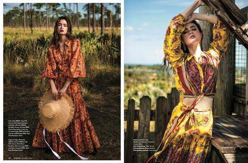 Stuart Magazine Editorial Makeup Spread
