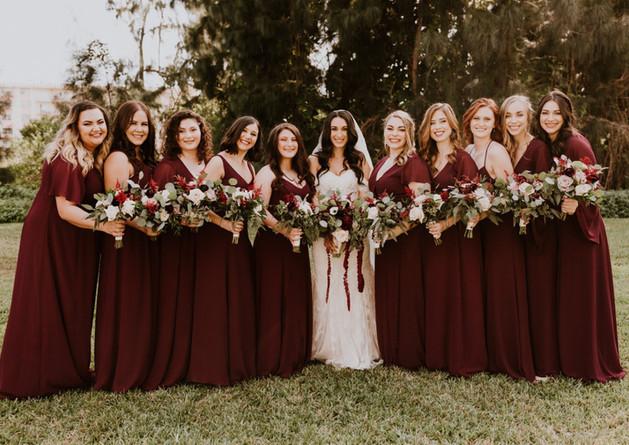 Jenna's Bridal Party