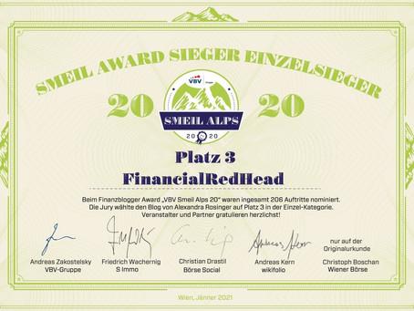 Smeil Award 2020 Platzierung