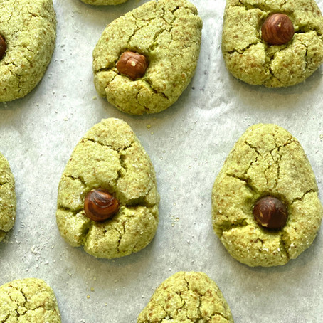 I Love Avocados so Matcha Cookies