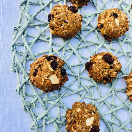 Coconut Cranberry Breakfast Cookie