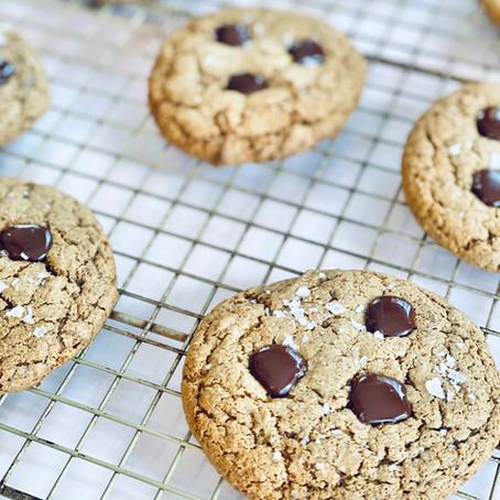 Maple Granola Butter Cookies