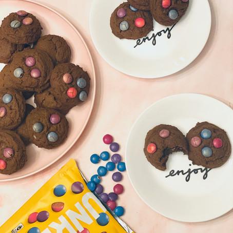Unreal Triple Chocolate Cookies