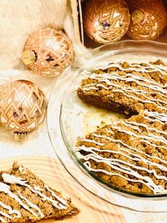 Gluten Free Gingerbread Coffee Cake