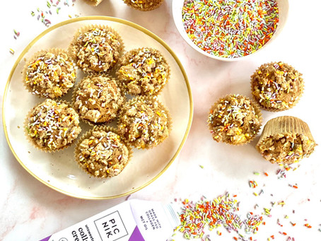 Collagen Confetti Crumb Muffins (AKA Beaty Muffins!)