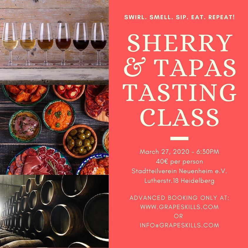 Sherry & Tapas Tasting Class