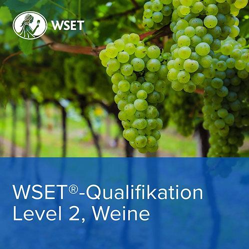 WSET-Qualifikation Level 2, Weine