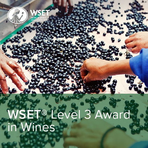 WSET Level 3 Award in Wines ONLINE