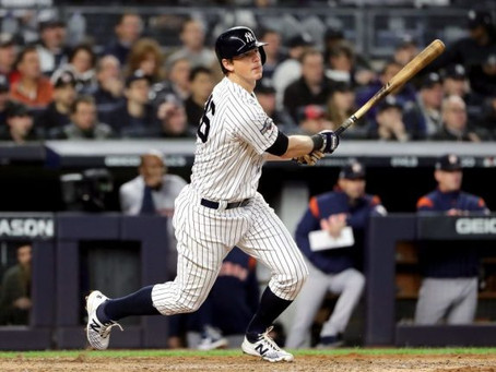 The DJ LeMahieu-Yankees Stare-Down Continues