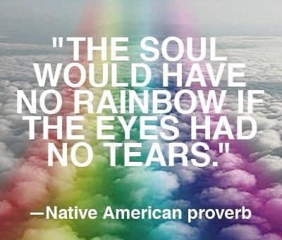 Tears Are The Cleanse of Your Soul