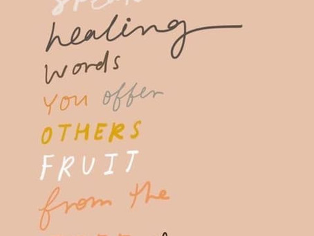 Your Gift of Healing Words