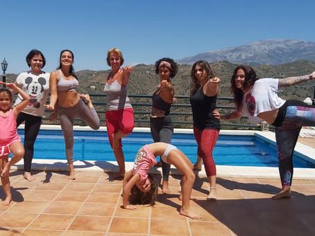 Yoga retreat in Sayalonga