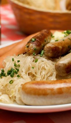 Traditional Sausage Platter