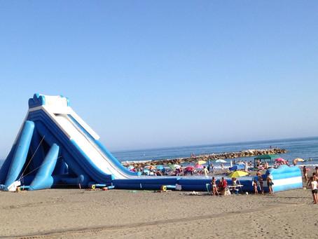 Water slide Torrox Costa