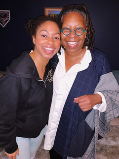 Nadia and Whoopie Goldberg (Promotional)