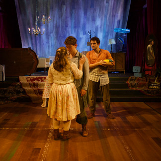 Peter and the Starcatcher, Scenic Designer