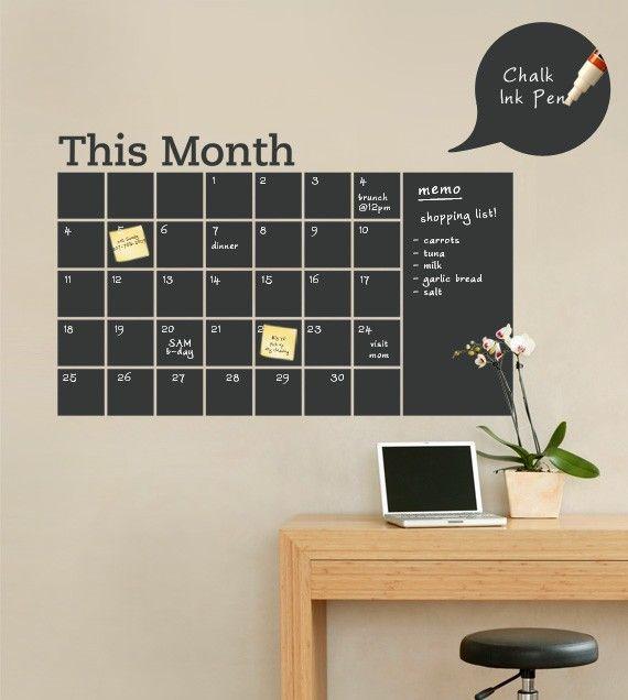Планы, встречи, важные телефоны и цели на месяц - всё вперед глазами!