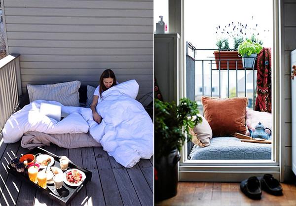Балкон lounge