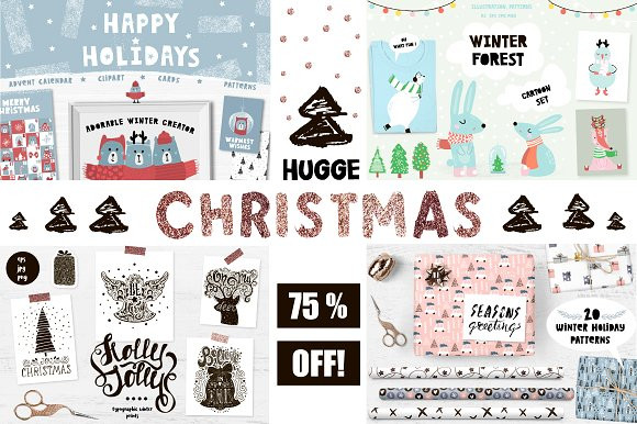 Hygge Christmas design