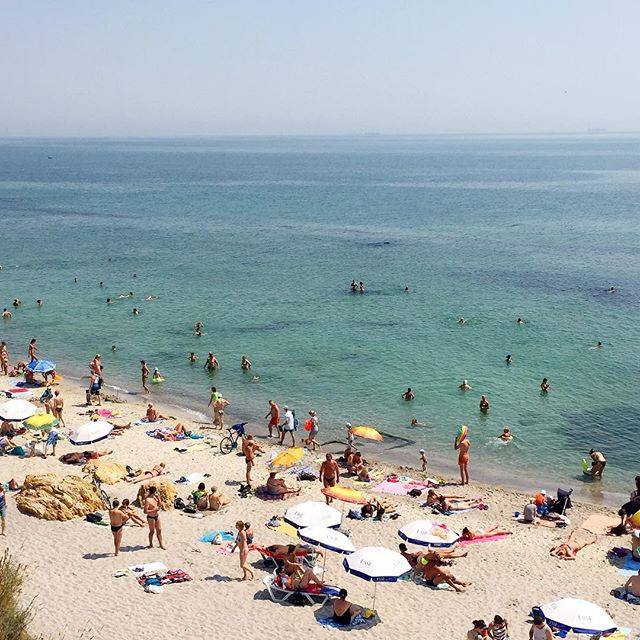 Одесский пляж, 2015. Odessa*Weekend