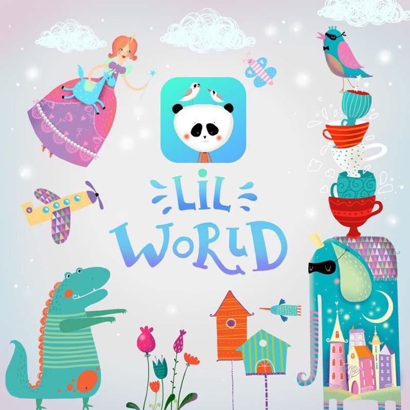 LilWorld. Приложение с кириллическими шрифтами