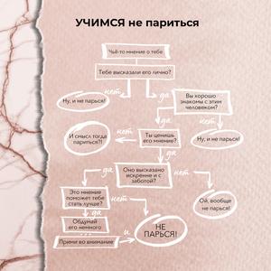 """Инфографика позитивная психология о том, как не париться от """"Инстадизайн по подписке"""""""