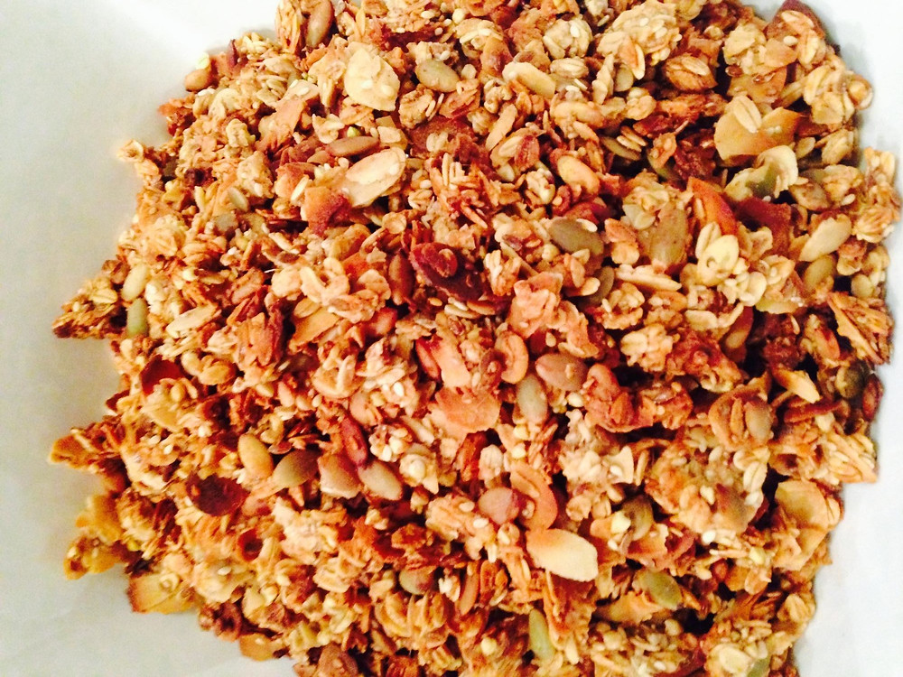 Breakfast Granola 2014-11-16-22:9:49