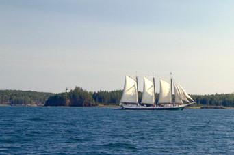 221k Rockland, Maine sailing by Owls Hea
