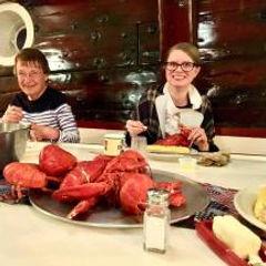 16k Lobster dinner aboard Victory Chimes