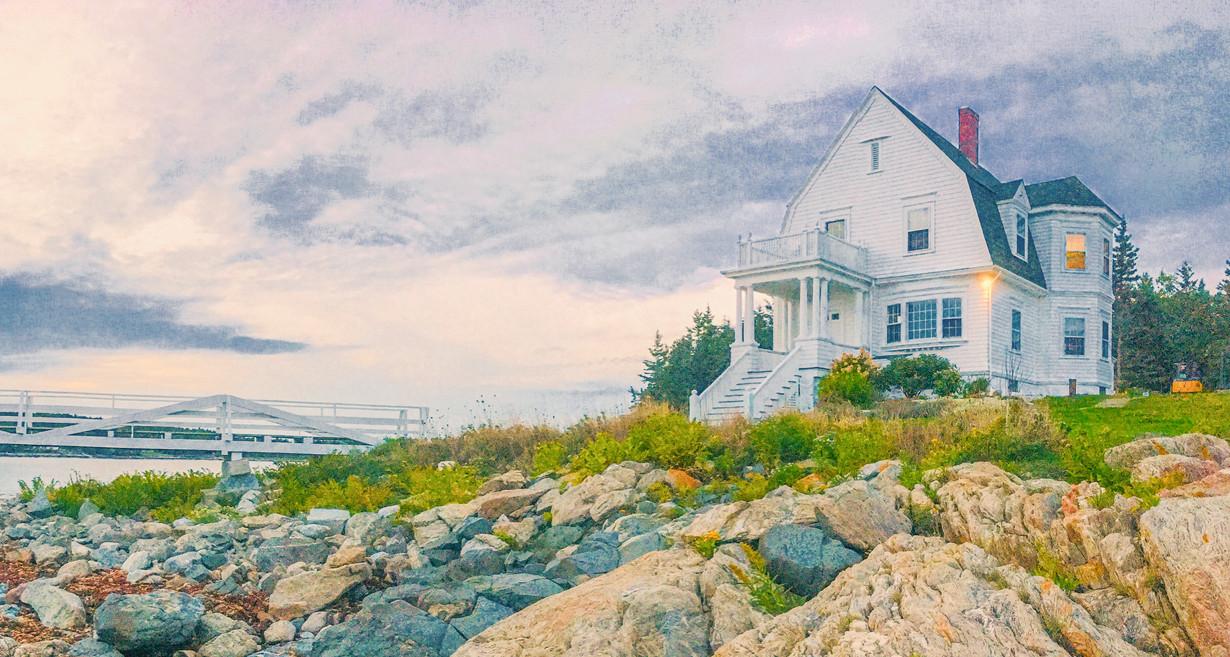 Marshall Point lighthouse Maine vacation