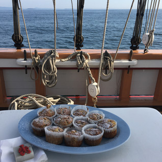 maine made fresh pastries sail vacation