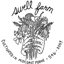 Swell Farm Rockalnd Maine logo