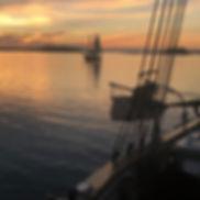 232 maine vacaton sunset on sailboat-min