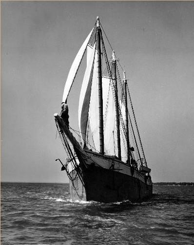 Edwin Maud loaded with lumber