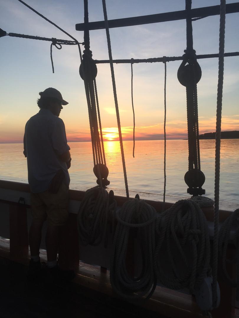 Sunset on Maine sailing cruise.jpg