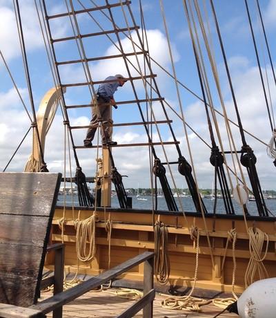 200 Capt Sam in the rigging.jpg