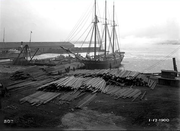Loading lumberm, Philadelphia: 1900.jpg