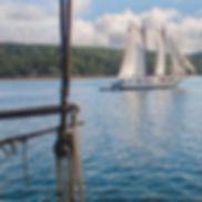 227 maine schooner from deck of victory