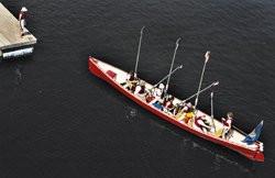 Rowing trip on Maine coast tests teens' mettle