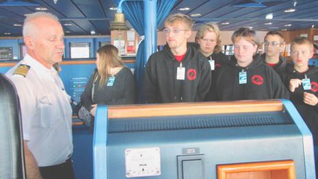 leadership program Station Maine ship to