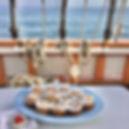 fresh cinnamon buns maine sailing vacati