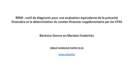 Working paper (FR)