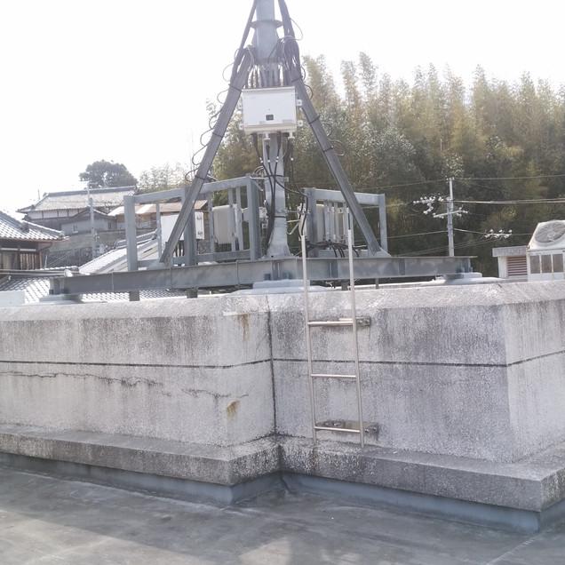 公民館屋上