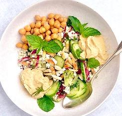 tofu cucumber dill salad w hummus.jpeg
