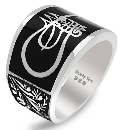 Erzurum Work 925 Carat Sterling Ring