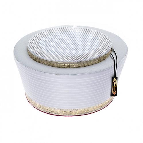 Mevlana Hat/Turban Islamic Prayer Namaz-White